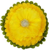 Tissue Paper Flower - Yellow