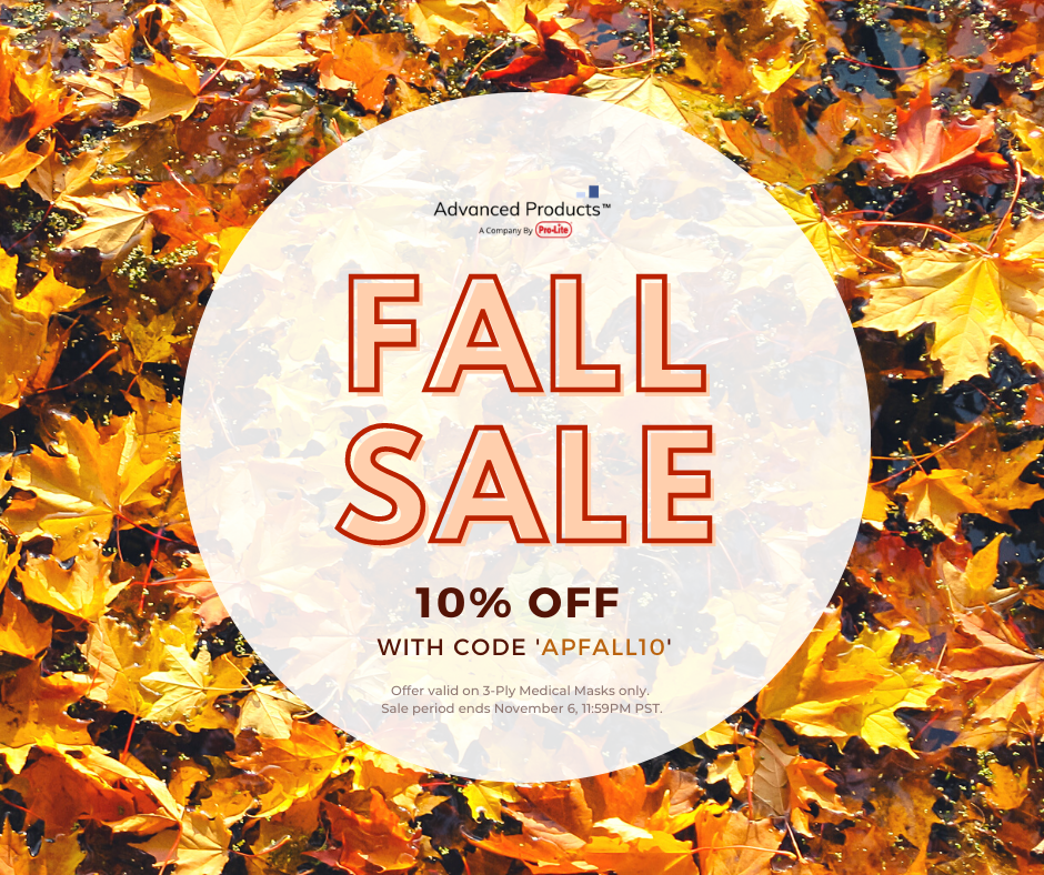 Advanced Products 2020 Fall Sale