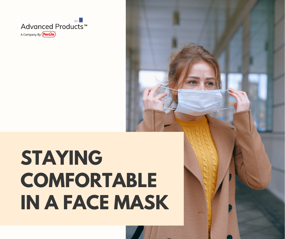 Staying Comfortable in a Face Mask