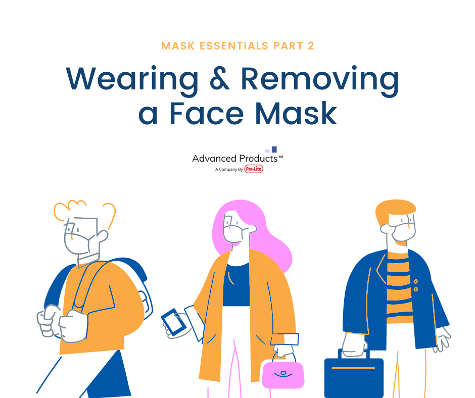 Mask Essentials Part 2: Best Practices for Wearing & Removing a Face Mask