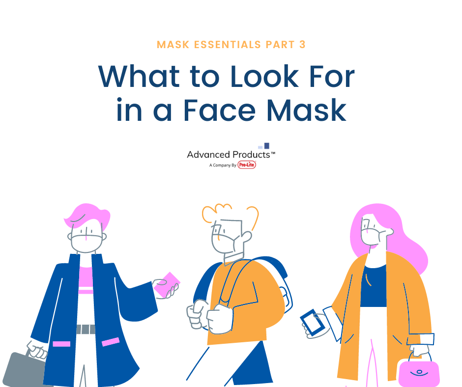 Mask Essentials Part 3: What to Look For in a Face Mask