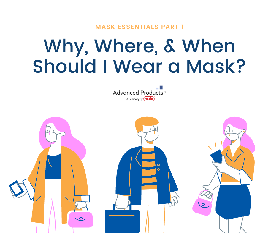 Mask Essentials Part 1: Why, Where, & When Should I Wear a Mask?