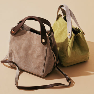 COW & PIG LEATHER 2WAY TOTE