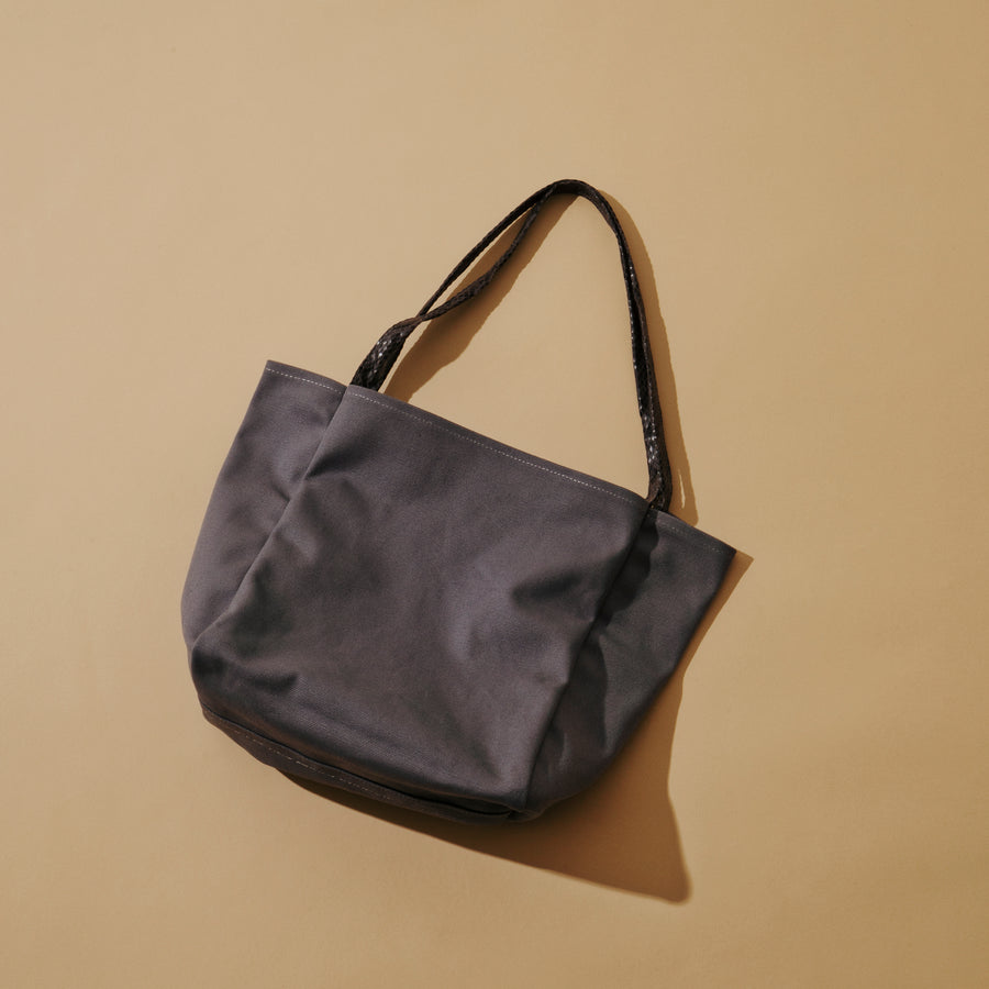 CANVAS RIVERSIBLE TOTE
