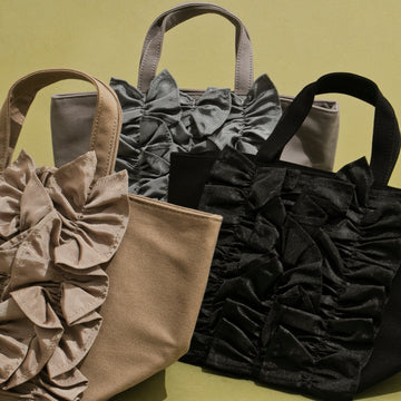 GROSGRAIN×CANVAS TOTE