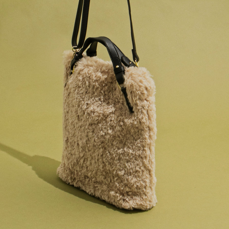 FUR 2WAY TOTE
