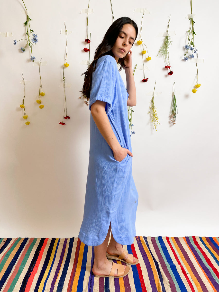Elegant Tetra Maxi Dress
