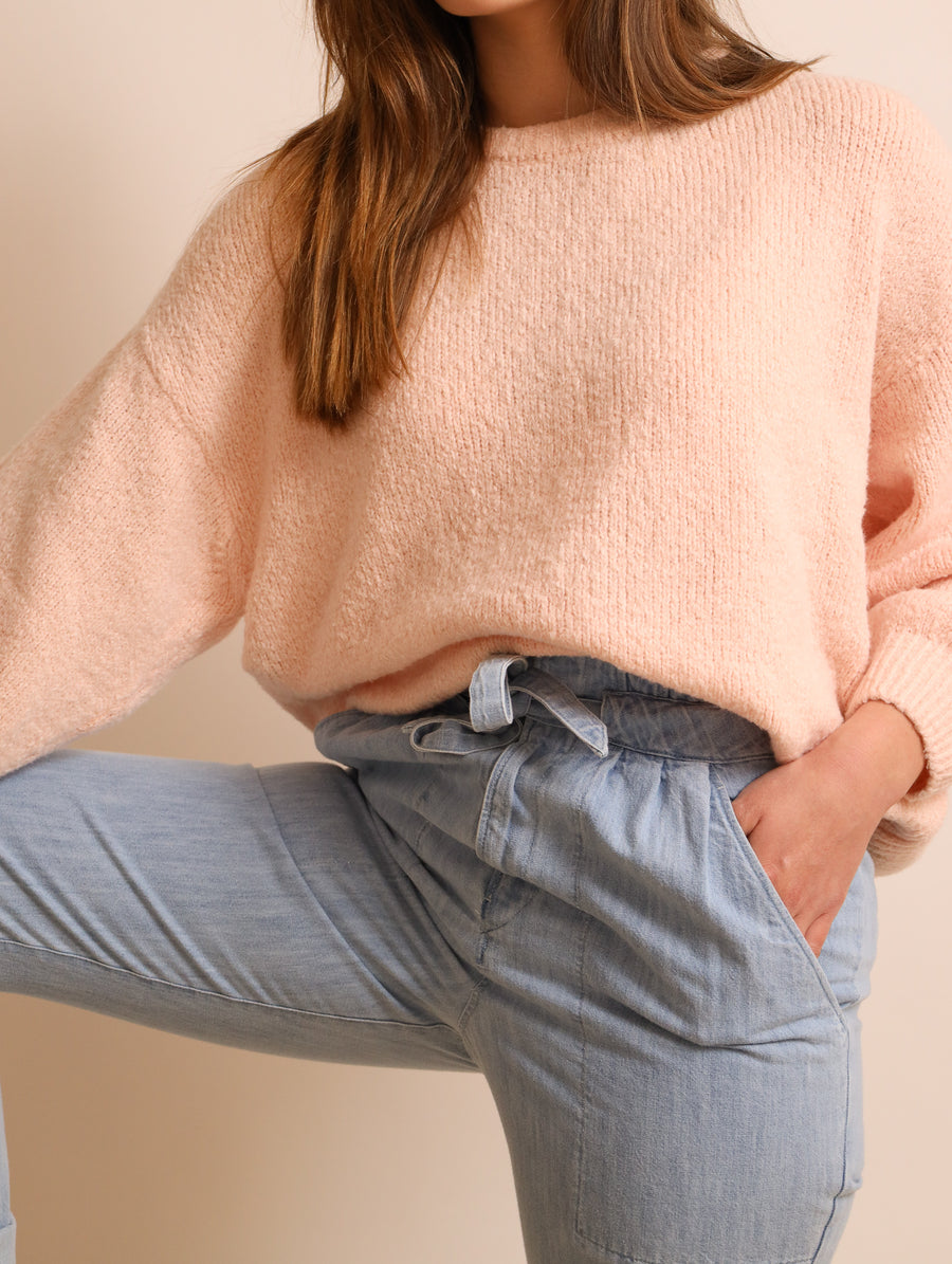 Oversized Cotton Jumper
