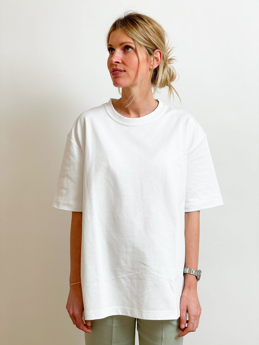 Long White T-Shirt