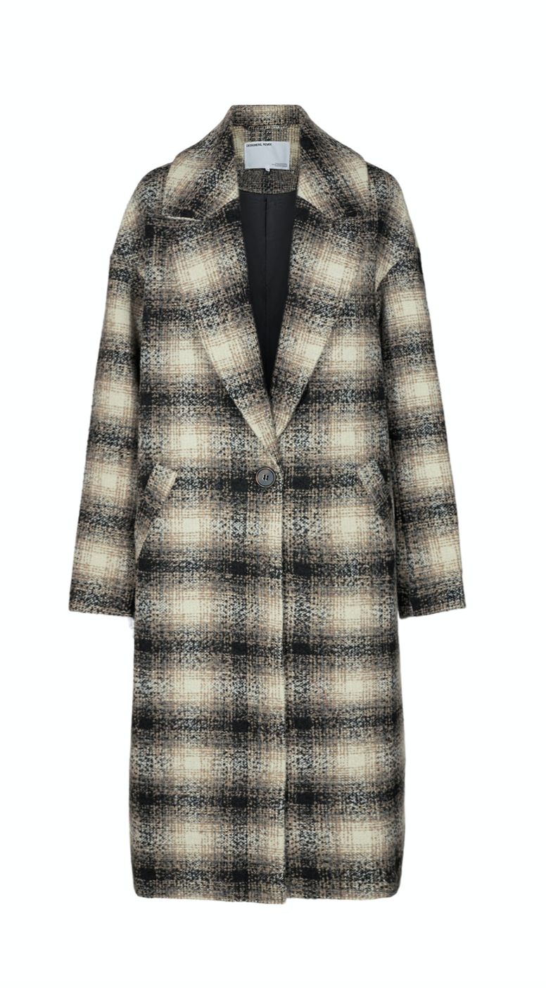 Oversized Recycled Wool Coat