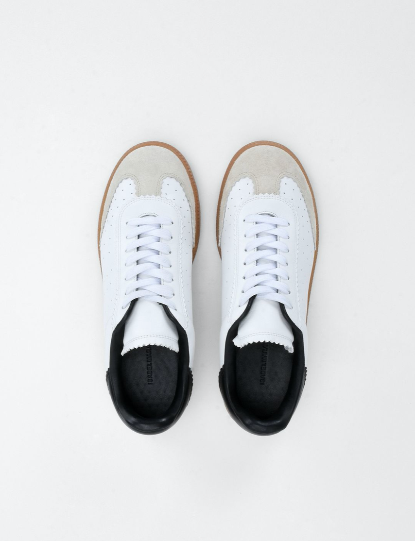 Lace-Up Leather Sneaker