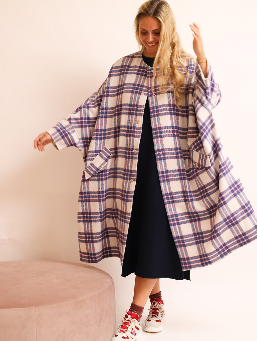 Virgin Wool Oversized Coat
