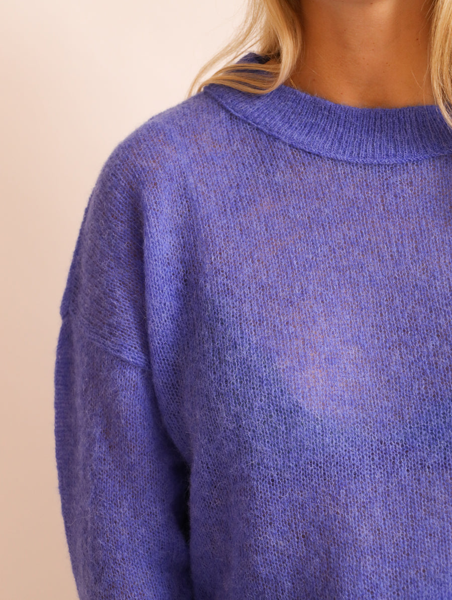Superfine Alpaca-Blend Jumper