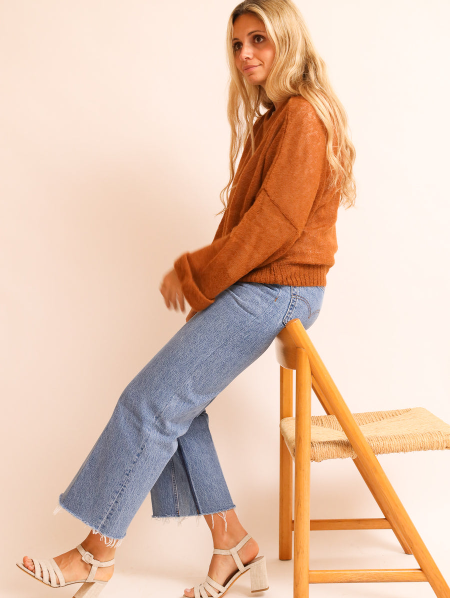 Superfine Alpaca Knit Jumper