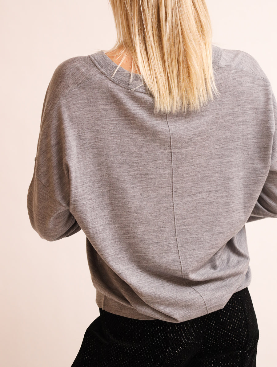 Wool V-Neck Jumper