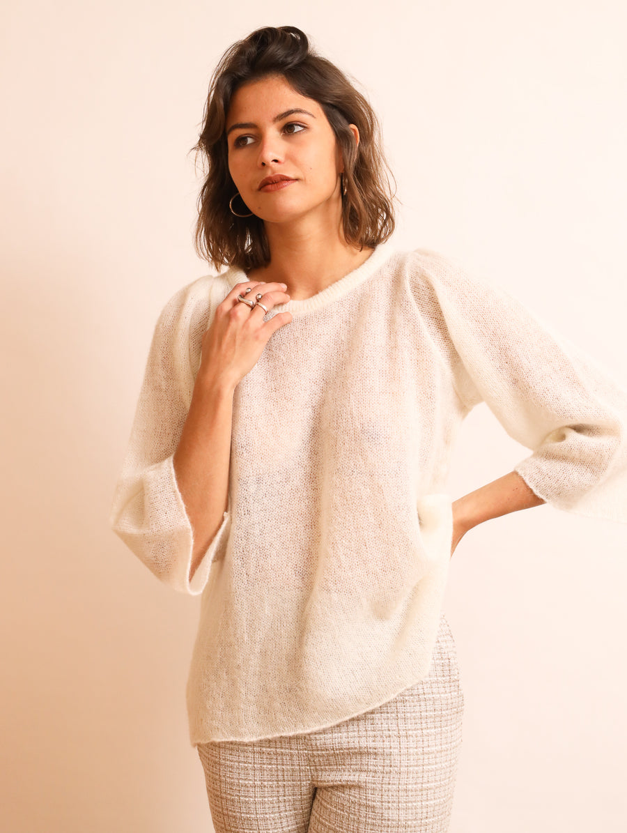 Puffy Sleeved Jumper