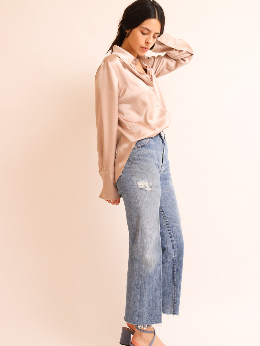Buttery Soft Satin Shirt