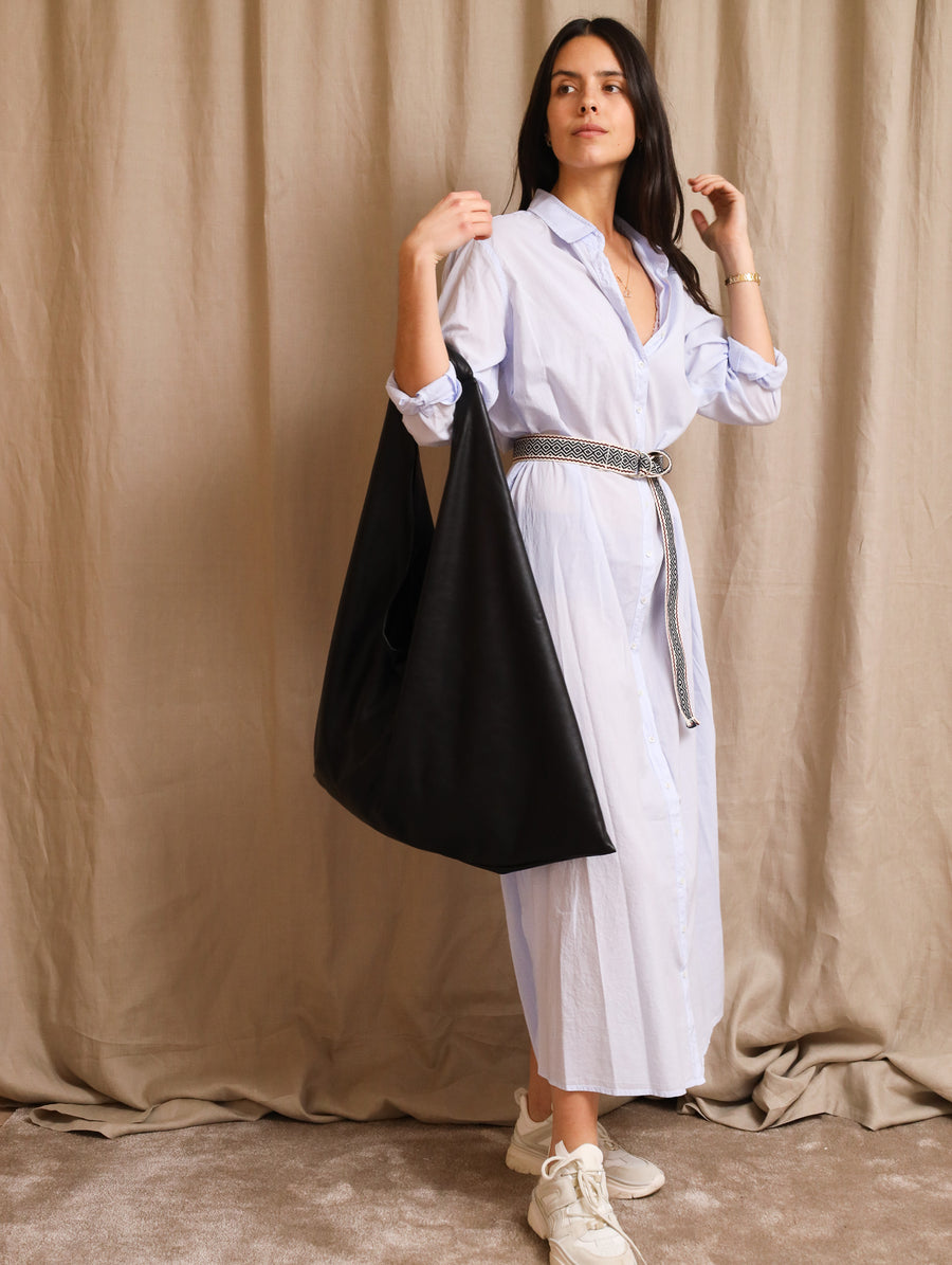 Leather-Free Leather Shoulder Bag
