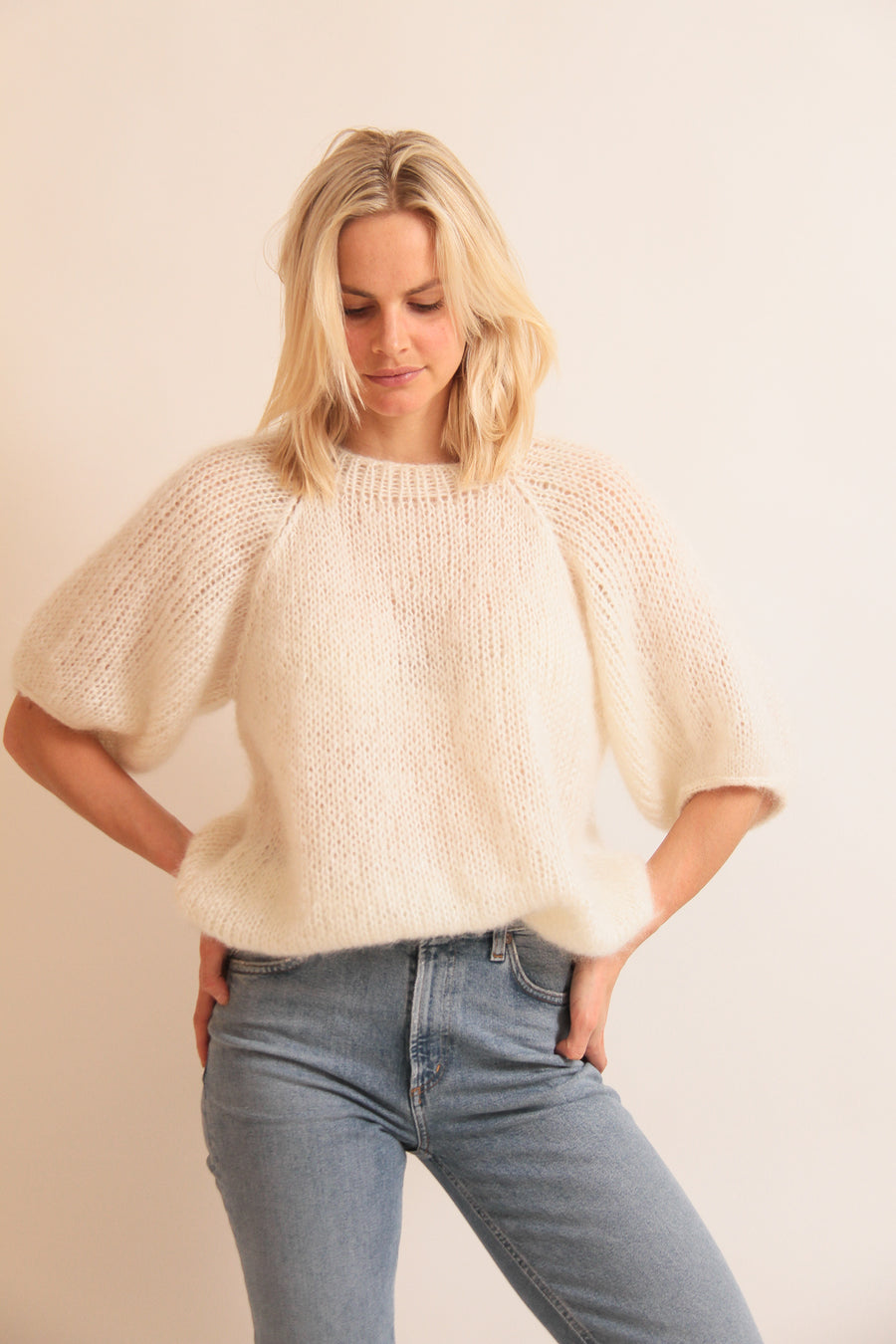 Sustainable Knit Boat Neck Jumper