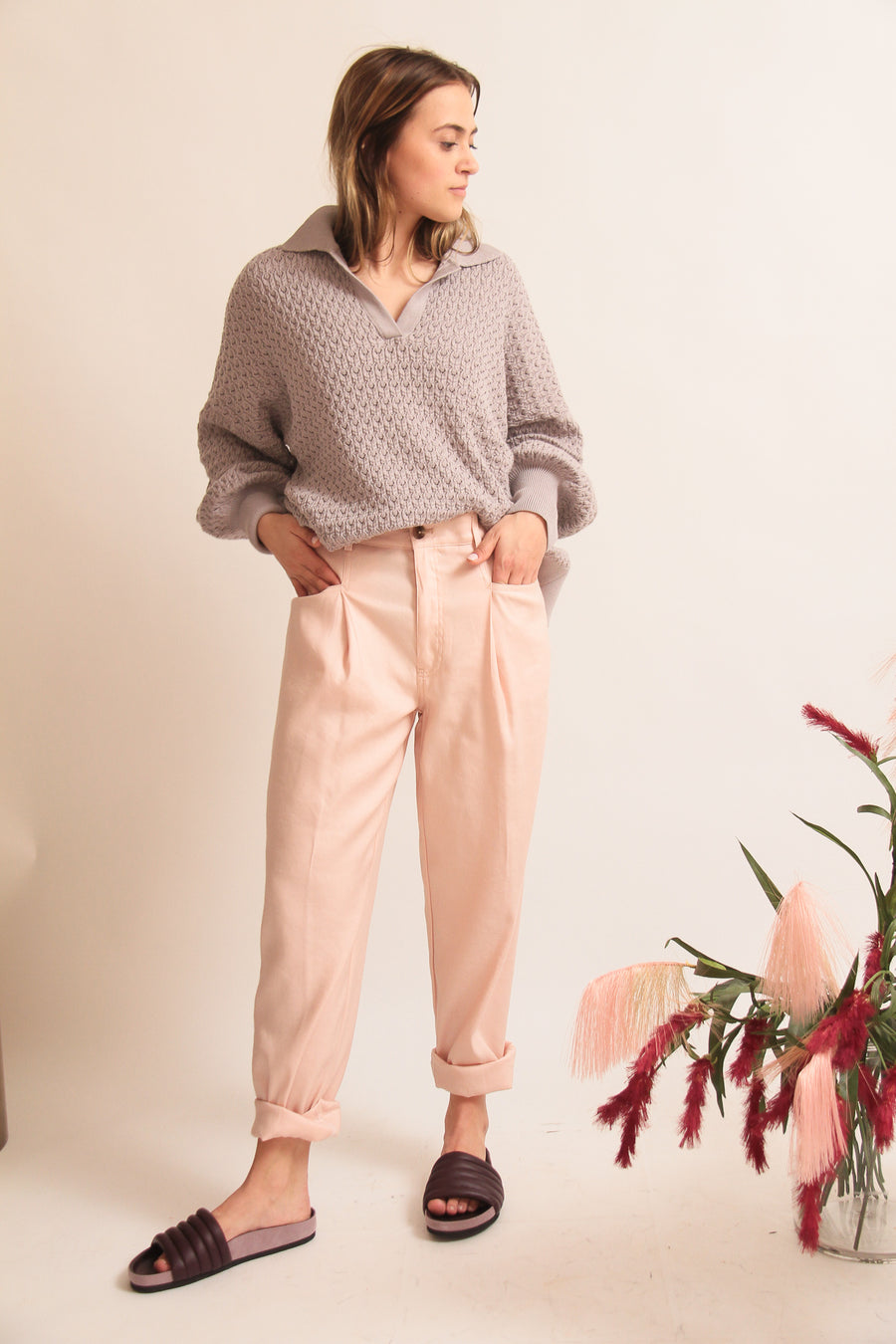 X-Pockets Pearl Pants