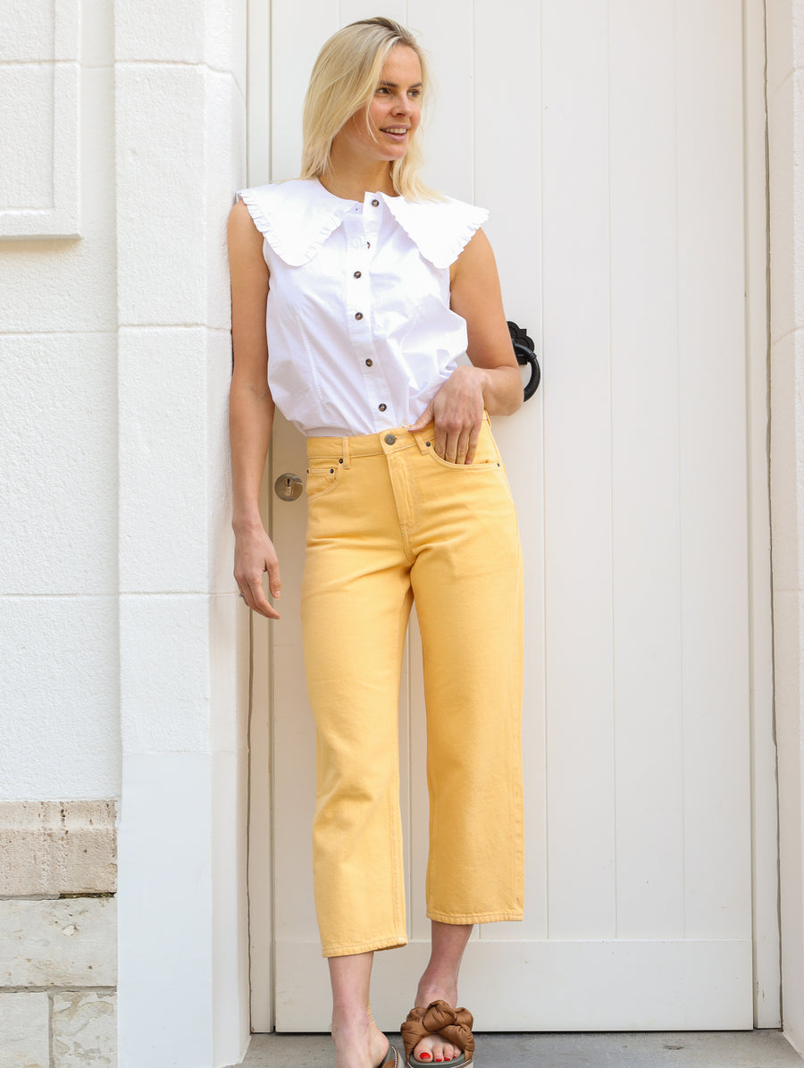 Straight-Fit Sunshine Trousers