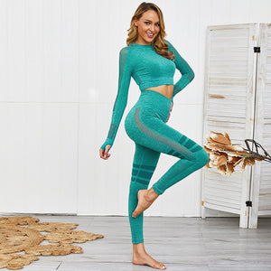 Women Yoga Seamless Set