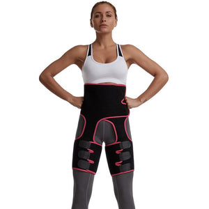 Waist and Thigh Trimmer - Legs Shaper - Neoprene Tummy Control