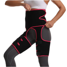 Load image into Gallery viewer, Waist and Thigh Trimmer - Legs Shaper - Neoprene Tummy Control