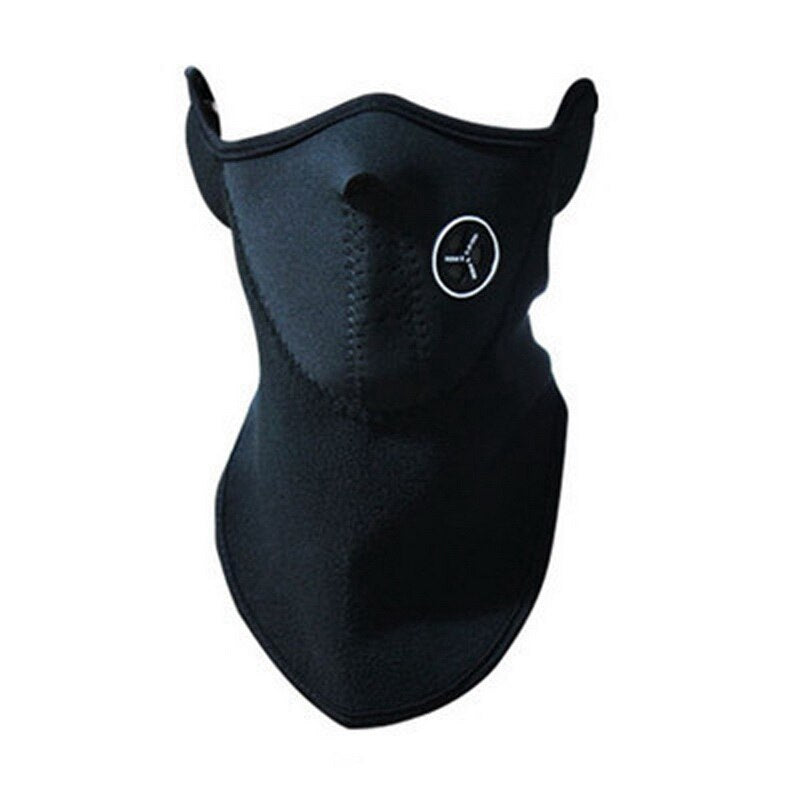 Fleece Unisex Windproof Half Face Mask - Great for Cycling, Skiing, & Jogging