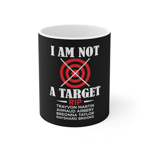 Load image into Gallery viewer, I Am Not A Target Mug