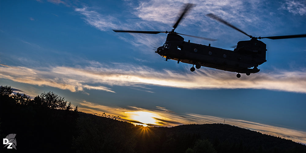 Chinook, hélicoptère, US Army, Manoeuvre, Hoenfels, Allemagne, UK