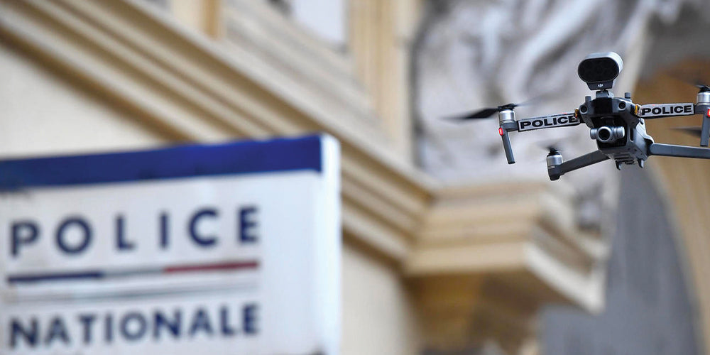 drone, lutte antidrone, police, police nationale