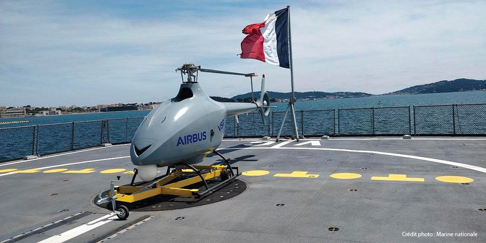 drone, Marine nationale, hélicoptère, Airbus, VSR 700