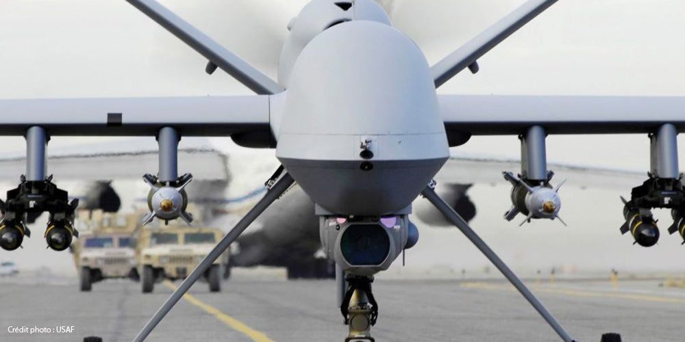 Drone, USA, USAF, armement, missile, combat