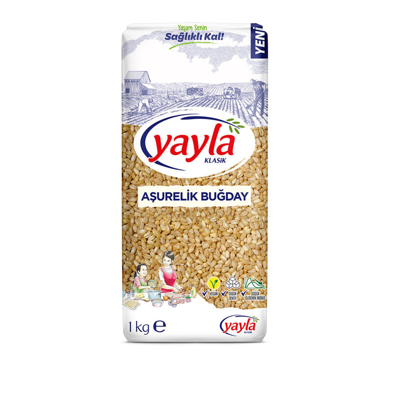 Yayla Whole Wheat (Aşurelik Buğday) 1kg