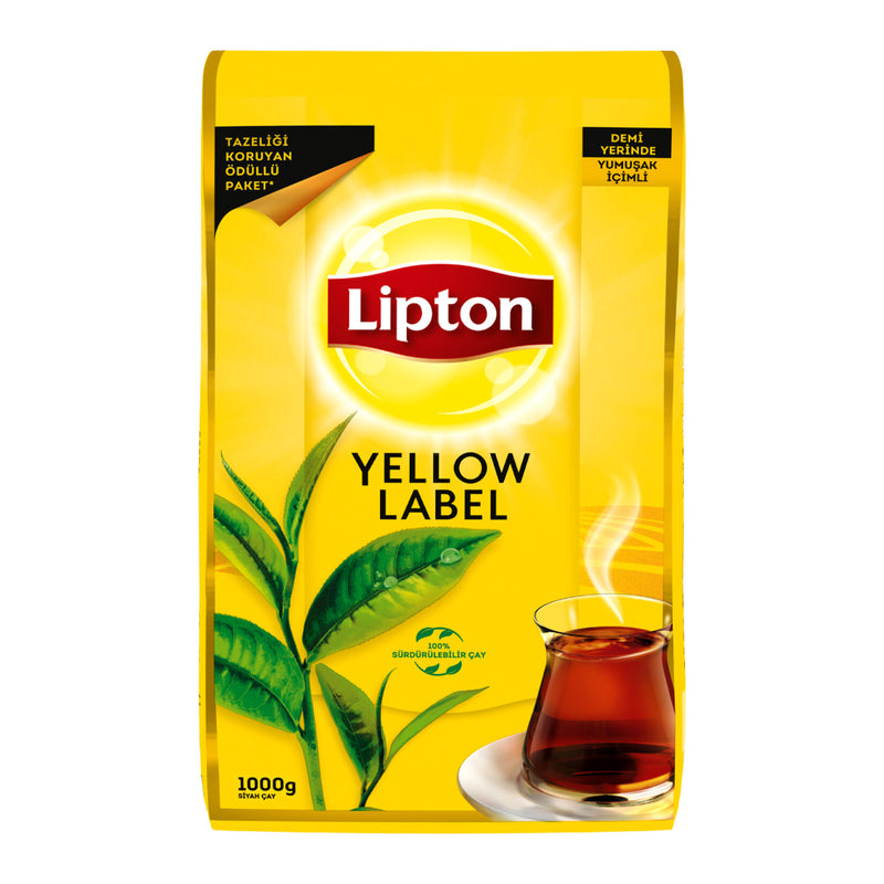 Lipton Yellow Label Loose-Leaf Black Tea (Dökme Çay) 1kg