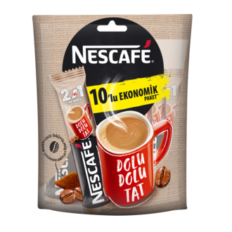 Nescafe 2-in-1 Package (2 si 1 Arada - Paket) 10ad/pcs