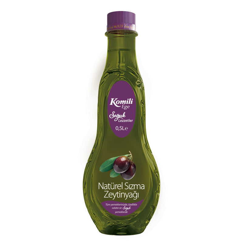 Komili Ege Natural Extra Virgin Olive Oil (Naturel Sızma Zeytinyağı) 500ml