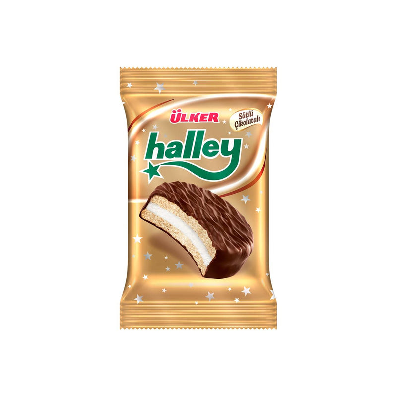 Halley Chocolate-Coated Biscuit (Çikolata Kaplamalı Bisküvi) 30g
