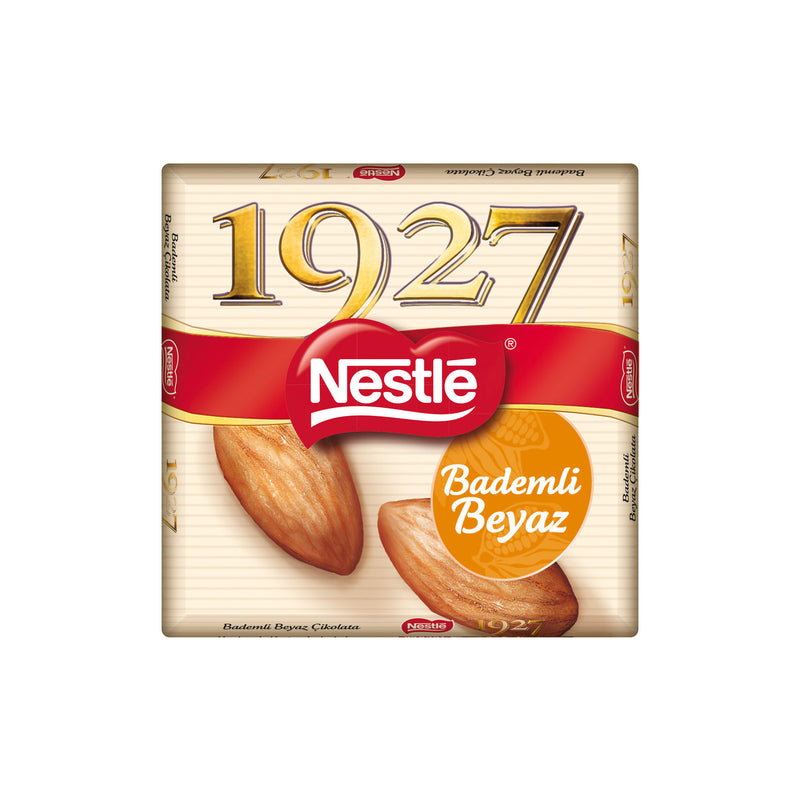 Nestle 1927 White Chocolate with Almonds(Bademli Beyaz Çikolata) 65g