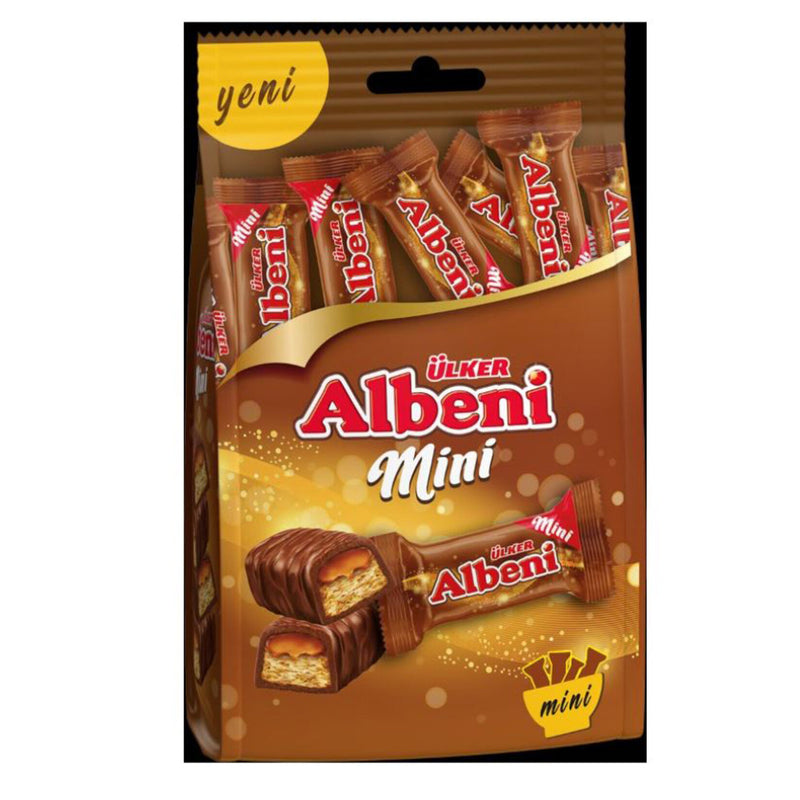 Ülker Albeni Mini Chocolate Bars (Çoklu Paket) 89g