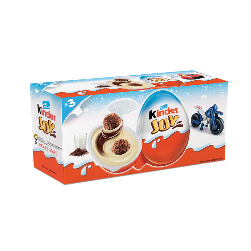 Kinder Joy Surprise Egg Pack of 3 (Erkeklere Özel) 60g