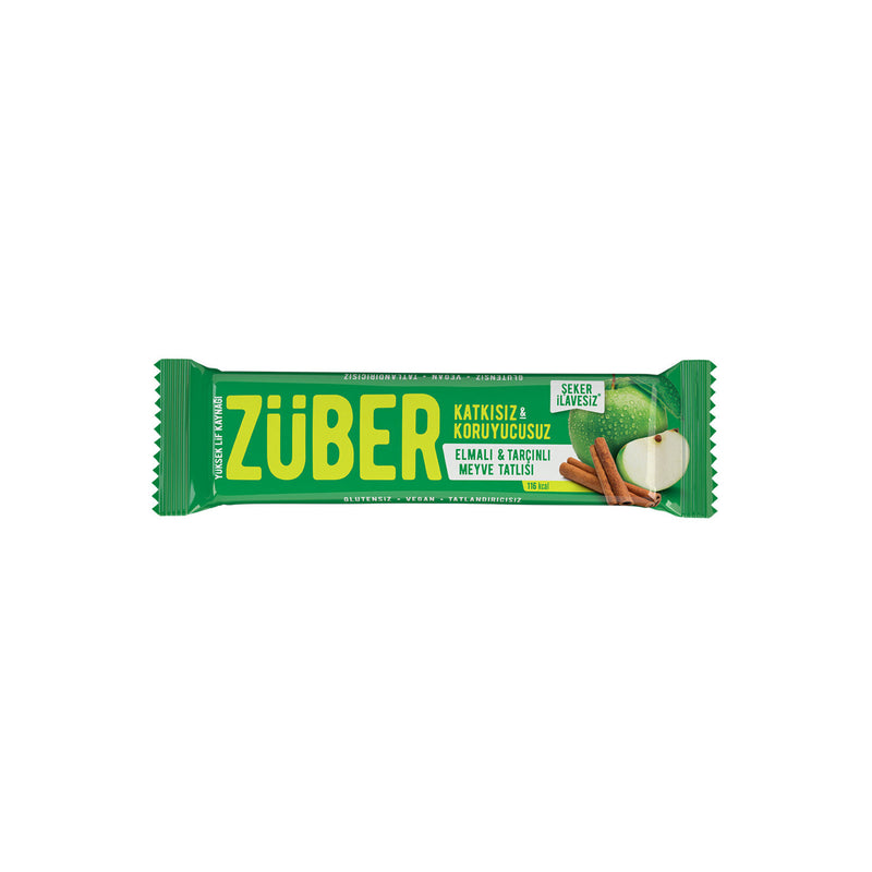 Züber Apple & Cinnamon Fruit Bar (Elmalı Tarçınlı Meyve Bar) 40g
