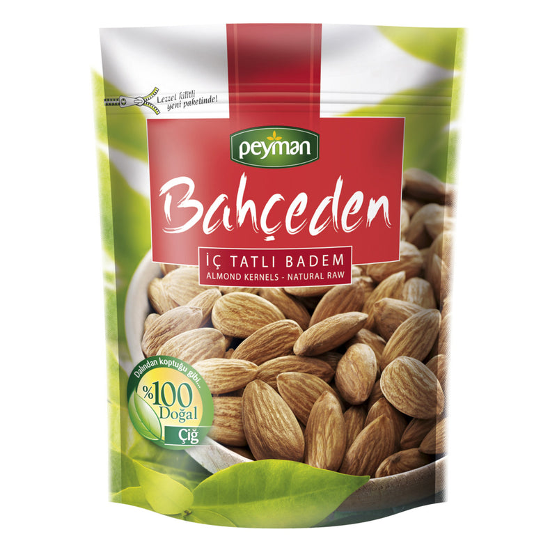 Peyman Bahçeden Natural Raw Almonds  (Çiğ Badem) 175g