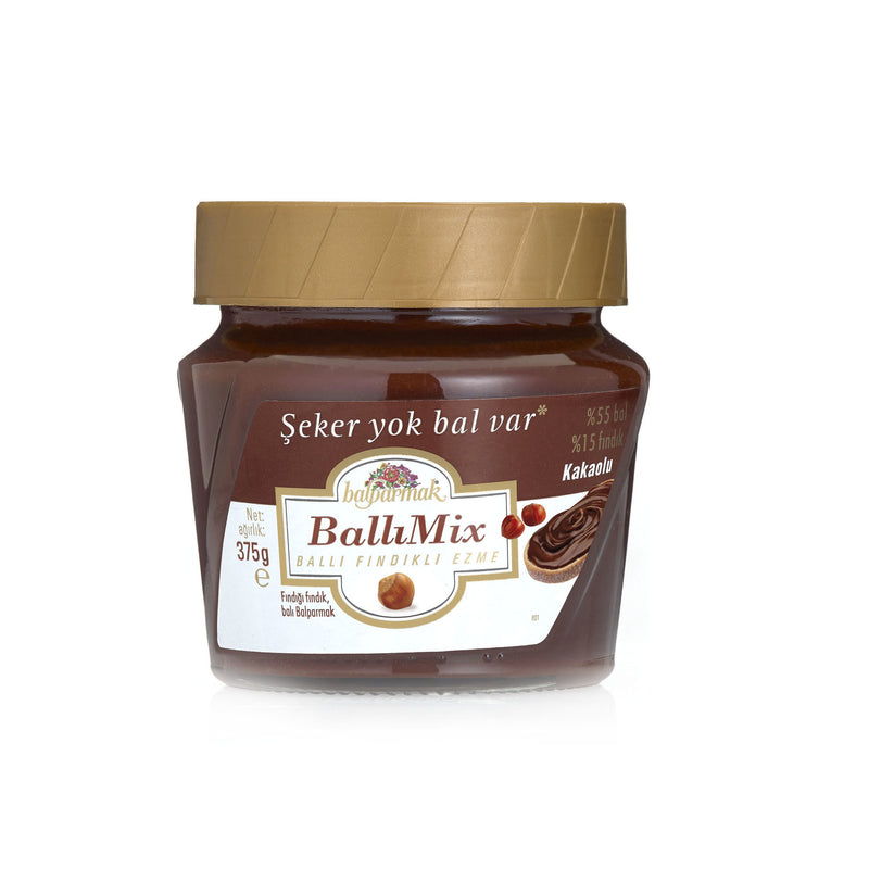Balparmak BallıMix Honey Hazelnut Chocolate Spread (BallıMix Kakaolu) 375g