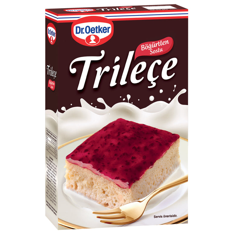 Dr. Oetker Tres Leches Cake Mix with Blackberry Sauce (Trileçe-Böğürtlen Soslu) 315g