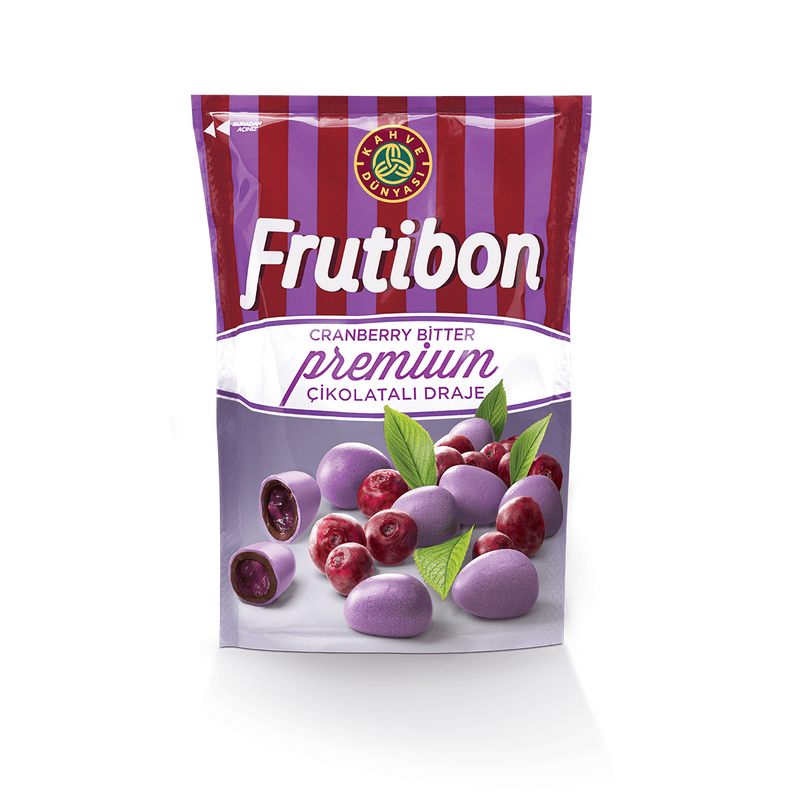 Kahve Dünyası Frutibon Chocolate-Covered Cranberries 150g