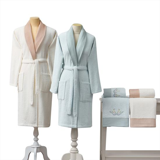 Taç Barbara Bath Linen Family Set (Aile Seti)