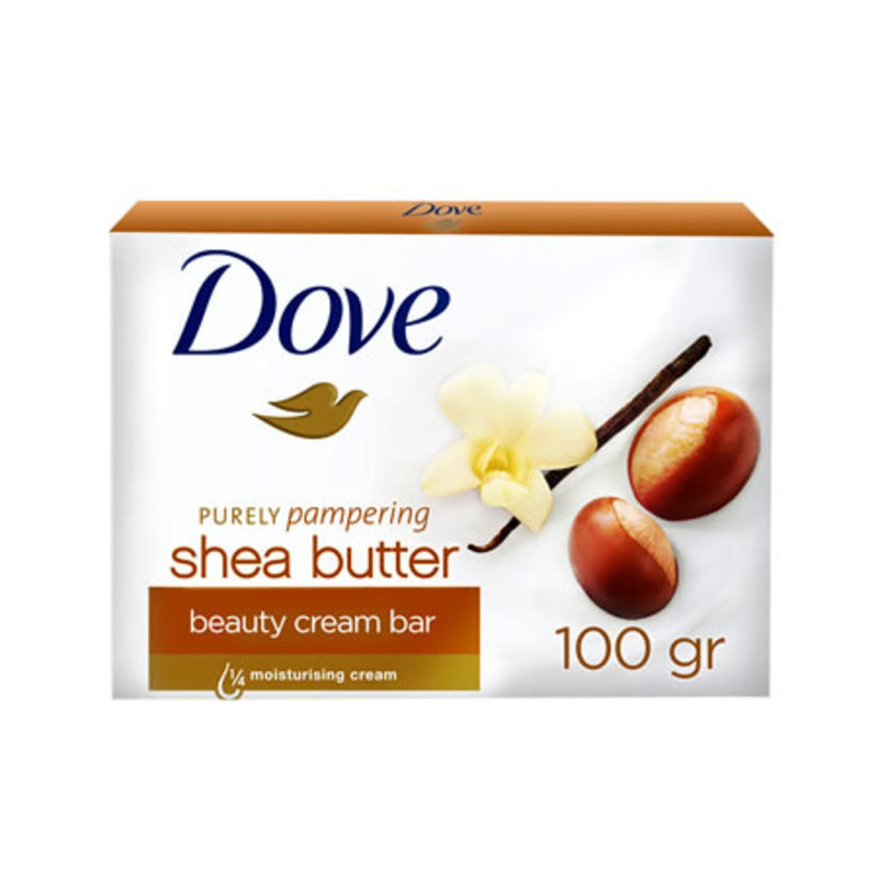 Dove Beauty Cream Bar Shea Butter Soap 100g