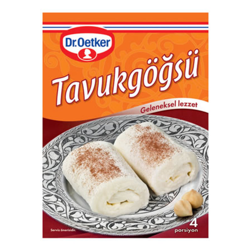 Dr. Oetker Chicken Breast Pudding Mix (Tavuk Göğsü) 125g